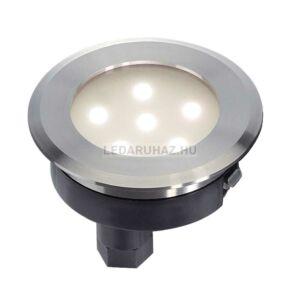 Kültéri IP67, 25 lm járófelületbe süllyesztett kerek LED lámpatest, DASAR FLAT - Big White SLV 228402
