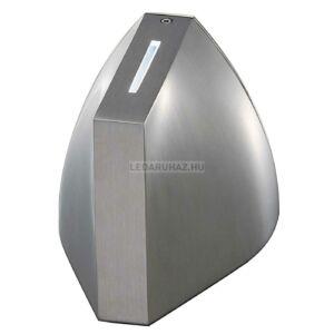 TENDA LED kültéri IP44, fehér/fehér fénycsíkk fali LED lámpatest, szürke - Big White SLV 229641