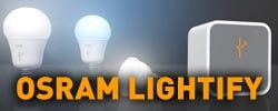 Osram Lightify intelligens LED világítás